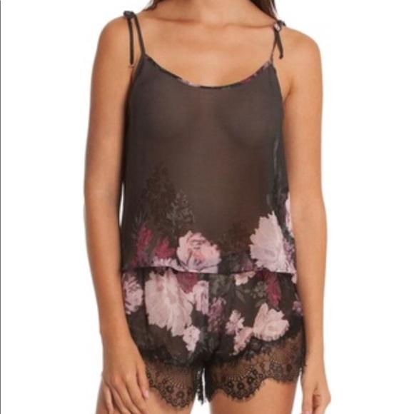 bbcbee61a47e Nordstrom Intimates & Sleepwear   Midnight Bakery Floral Chiffon ...